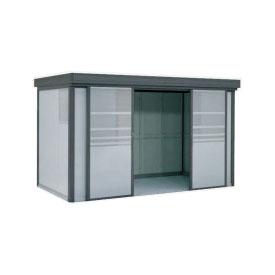 ヨドコウ ダストピット DPFS-4113 40世帯用 (受注生産商品) 『ゴミ収集庫』『ダストボックス ゴミステーション 屋外』