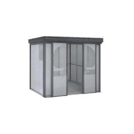 ヨドコウ ダストピット DPFW-2519 35世帯用 (受注生産商品) 『ゴミ収集庫』『ダストボックス ゴミステーション 屋外』