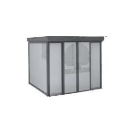 ヨドコウ ダストピット DPFW-2525 45世帯用 (受注生産商品) 『ゴミ収集庫』『ダストボックス ゴミステーション 屋外』