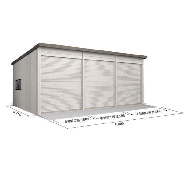ヨド倉庫 SOBU-8657FHD 基本棟 ブラウニー