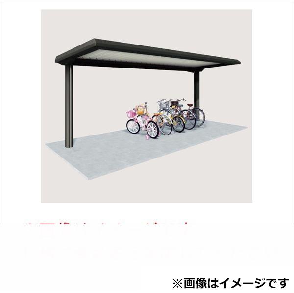 自転車置き場 ヨド物置 YOPA-540 基本棟 『公共用 サイクルポート 屋根』 シミラーブラック