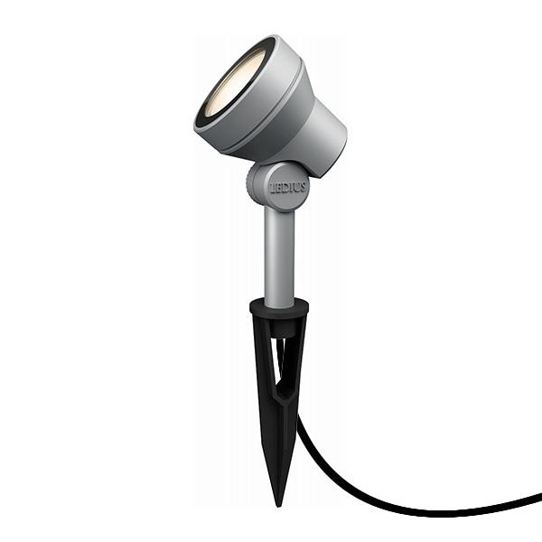 タカショー ガーデンアップライト ミオ 4.5W (LED色:電球色) HBB-D18S #73700000 『ローボルトライト』 『エクステリア照明 ライト』 シルバー