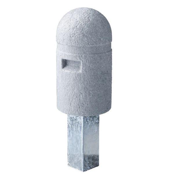 四国化成 レコポールGS 固定式 Aタイプ 反射テープ付き *受注生産品 RP-GS250-HA グレー
