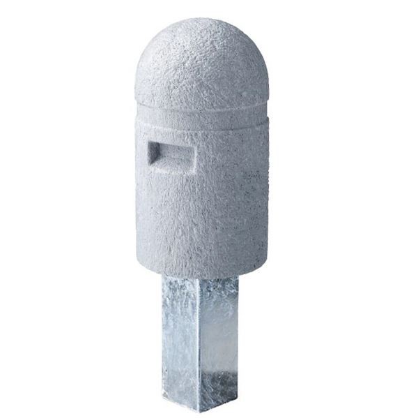 四国化成 レコポールGS 取り外し式(鍵付) Aタイプ 反射テープ無し *受注生産品 RP-GS250TK-A グレー
