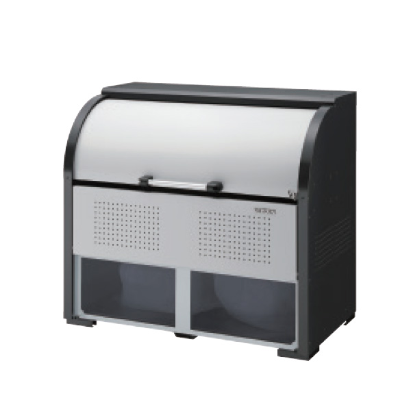 ダイケン クリーンストッカー CKR CKR-1307-2A型 『ゴミ袋(45L)集積目安 17袋、世帯数目安 8世帯』『ゴミ収集庫』『ダストボックス ゴミステーション 屋外』