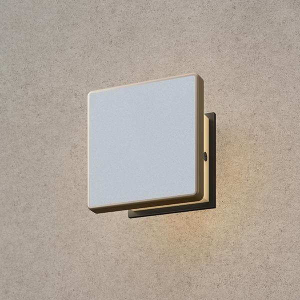 タカショー エバーアート ウォールライト(100V)2型 HFB-D25S #75504200 『エクステリア照明 ライト』 シルバー