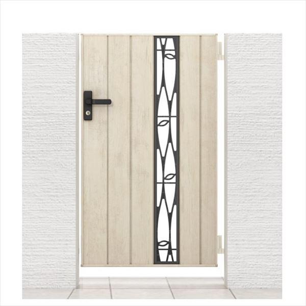 リクシル 開き門扉AA TS2型 柱仕様 アルミ形材柱 07-12 片開き