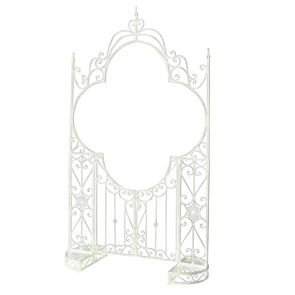 東洋石創 ガーデンアーチ #85573 『アーチ・パーゴラ』 アンティークホワイト