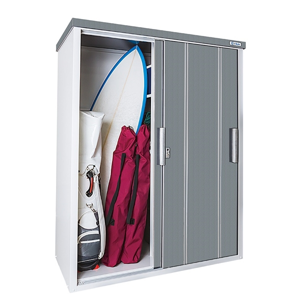 サンキン物置 COOL COOL-1575 一般型  『追加金額で工事も可能』 『中型・大型物置 屋外 DIY向け』