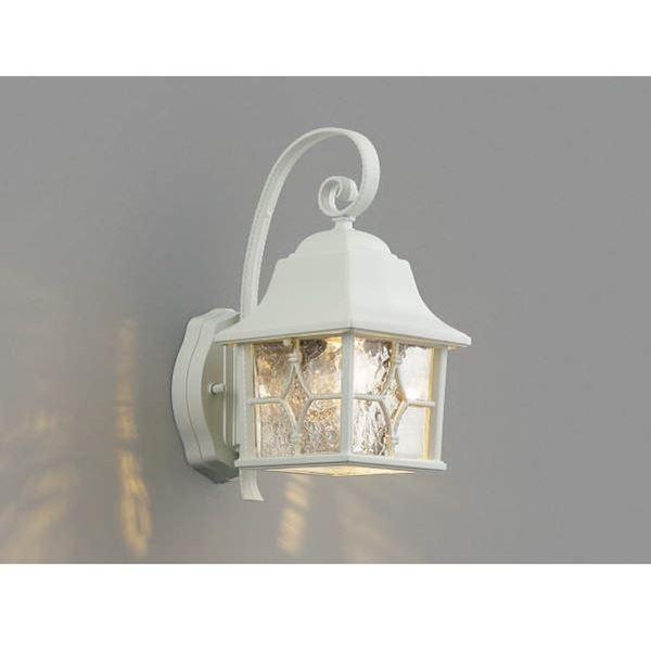 コイズミ ポーチ灯 AU42407L 『ブラケットライト エクステリア照明 ライト』 白色