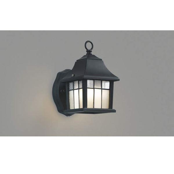 コイズミ ポーチ灯 AUE646327 『ブラケットライト エクステリア照明 ライト』 黒色