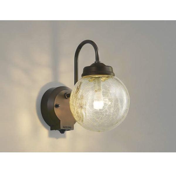 コイズミ ポーチ灯 タイマー付ON/OFFタイプ AU40250L 『ブラケットライト エクステリア照明 ライト』