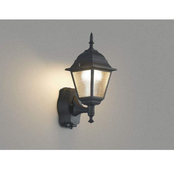 コイズミ ひびガラスを通した光が壁面に広がり ポーチ空間の印象を高めます 100%品質保証 ポーチ灯 タイマー付ON ブラケットライト AU45237L ライト 賜物 エクステリア照明 OFFタイプ