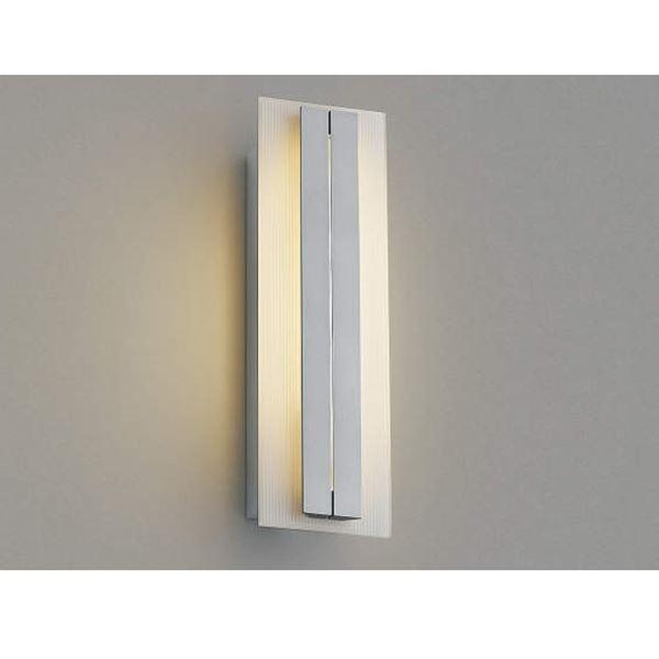 コイズミ ポーチ灯 AU42332L 『ブラケットライト エクステリア照明 ライト』 シルバーメタリック