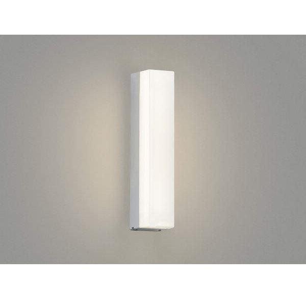 コイズミ ポーチ灯 AU45235L 『ブラケットライト エクステリア照明 ライト』 シルバーメタリック