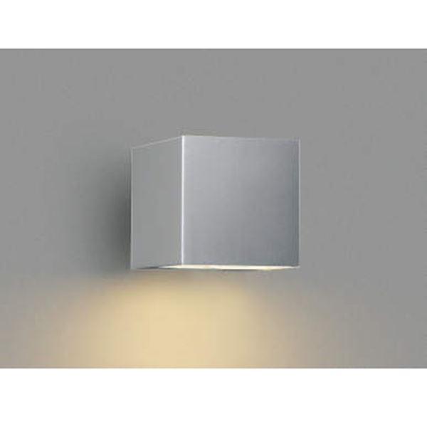 コイズミ ポーチ灯 下面照射 AU42367L 『ブラケットライト エクステリア照明 ライト』 シルバーメタリック