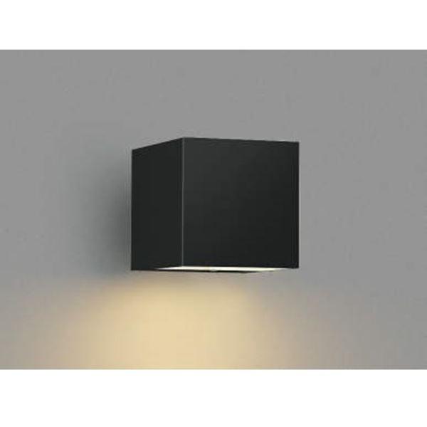コイズミ ポーチ灯 下面照射 AU42366L 『ブラケットライト エクステリア照明 ライト』 黒色