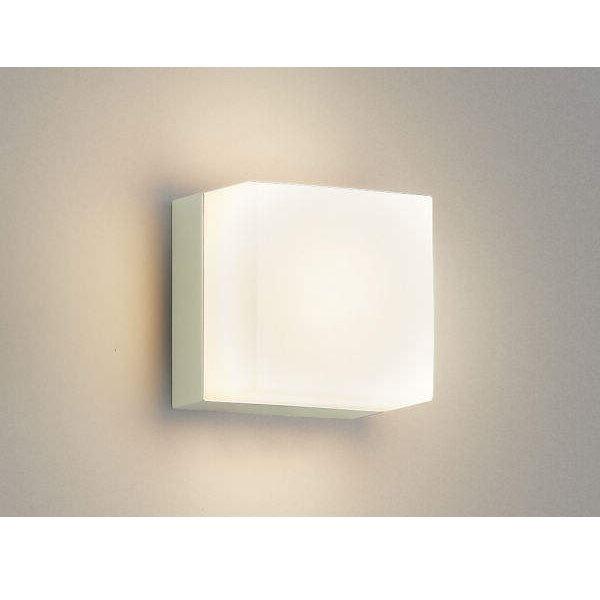 コイズミ ポーチ灯 AU45877L 『ブラケットライト エクステリア照明 ライト』 オフホワイト