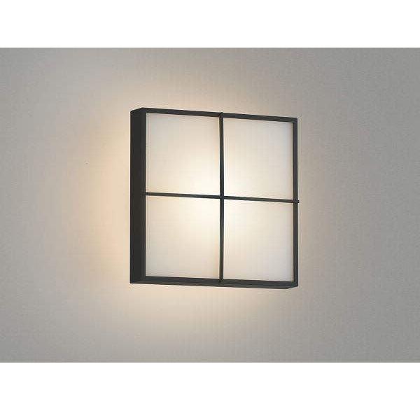 コイズミ ポーチ灯 AU45210L 『ブラケットライト エクステリア照明 ライト』 黒色