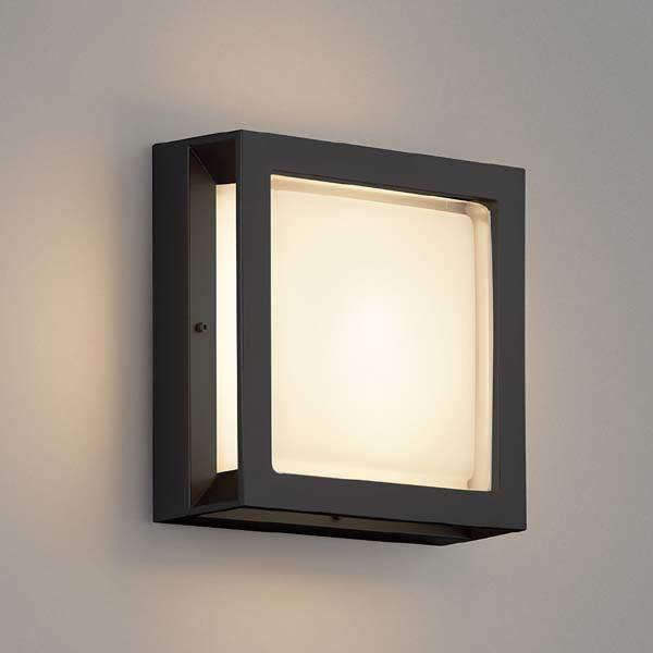 コイズミ 防塵・防水ブラケット AU46392L 『ブラケットライト エクステリア照明 ライト』 黒色