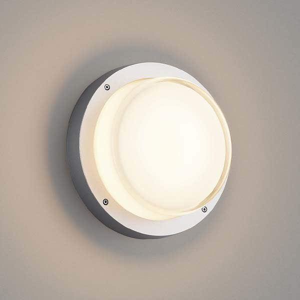 コイズミ 防塵・防水ブラケット AU45919L 『ブラケットライト エクステリア照明 ライト』 シルバーメタリック