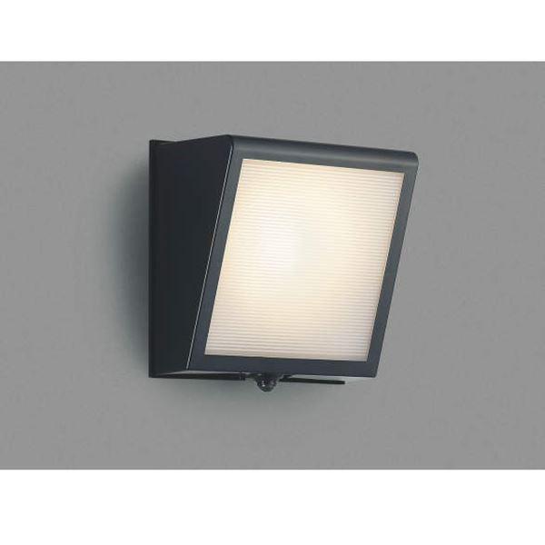コイズミ 大型のサイズ感と 堅牢な印象のデザイン ポーチ灯 勝手口灯 信用 マルチタイプ 黒色 エクステリア照明 ブラケットライト AU42354L ライト 買物