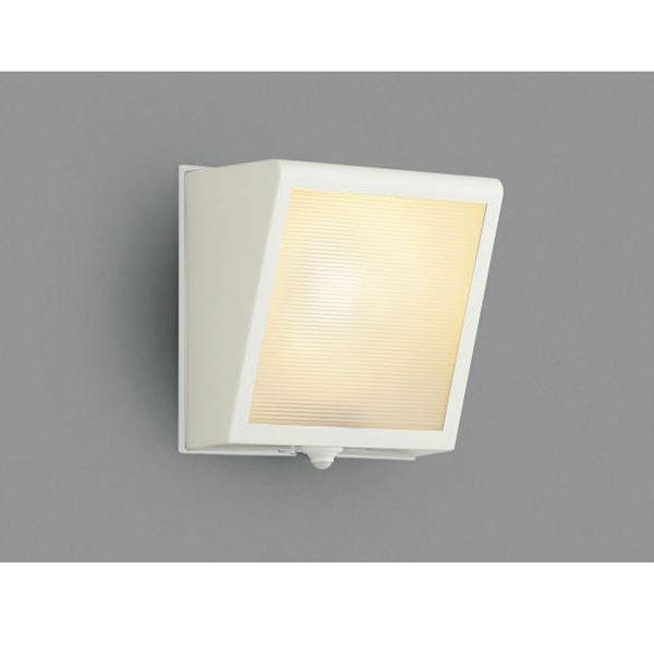 コイズミ 予約販売 大型のサイズ感と 堅牢な印象のデザイン ポーチ灯 勝手口灯 大幅にプライスダウン マルチタイプ オフホワイト ライト AU42355L ブラケットライト エクステリア照明