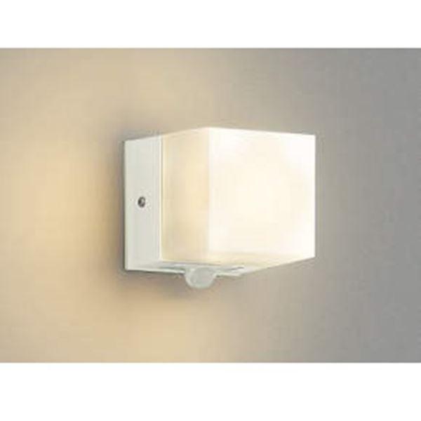 コイズミ 勝手口灯 マルチタイプ AU42316L 人感センサ 『ブラケットライト エクステリア照明 ライト』 オフホワイト