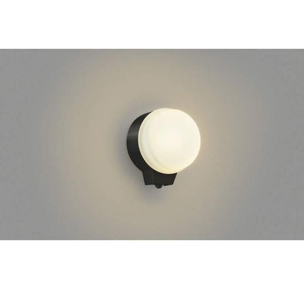 コイズミ どんなエクステリアともマッチするプレーンで使いやすいデザインをラインナップしました 勝手口灯 並行輸入品 マルチフラッシュタイプ AU38539L 商品 人感センサ ブラケットライト ライト エクステリア照明 黒色