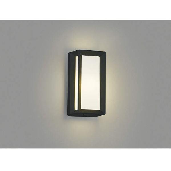 コイズミ 住まいの印象をスマートに演出します 門柱灯 直付 壁付 黒色 門柱取付 永遠の定番モデル AU40414L 本物 ライト エクステリア照明