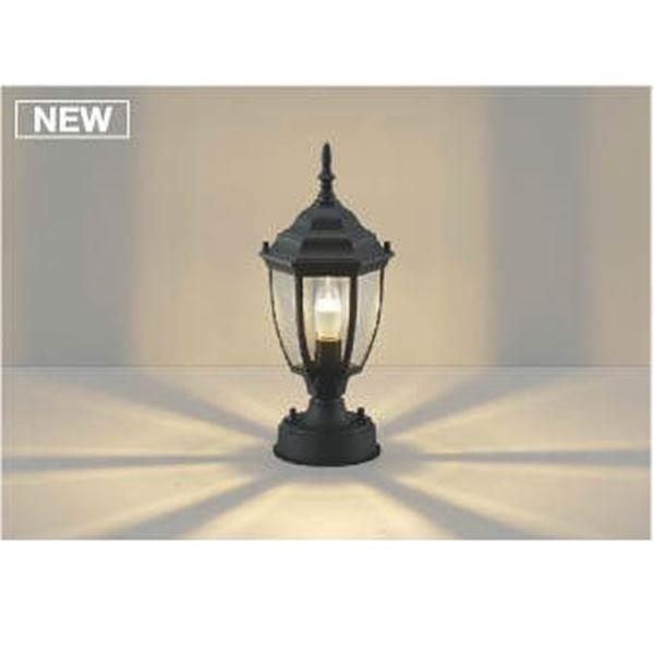 コイズミ レビューを書けば送料当店負担 アンティークなデザインで温かく玄関を彩ります 門柱灯 ライト AU47343L エクステリア照明 高額売筋