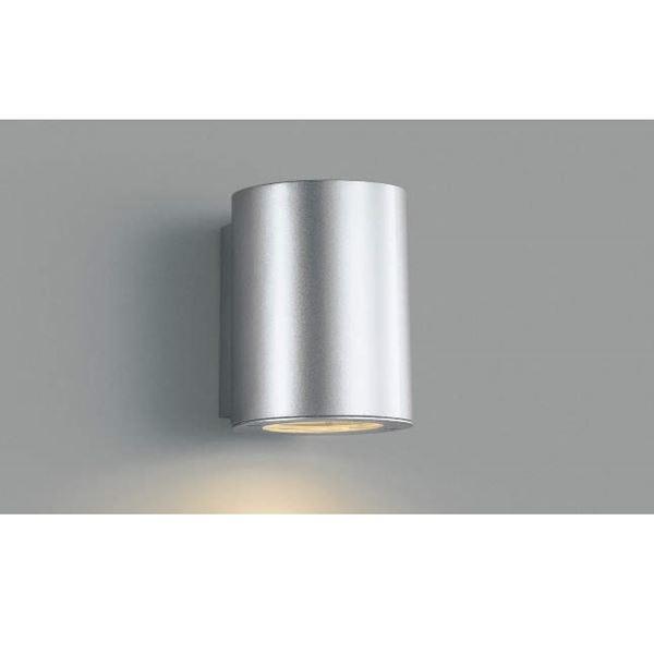 コイズミ シンプルでスタイリッシュな表札灯 表札灯 限定価格セール 下方照射 ライト エクステリア照明 商品 シルバーメタリック AU35656L