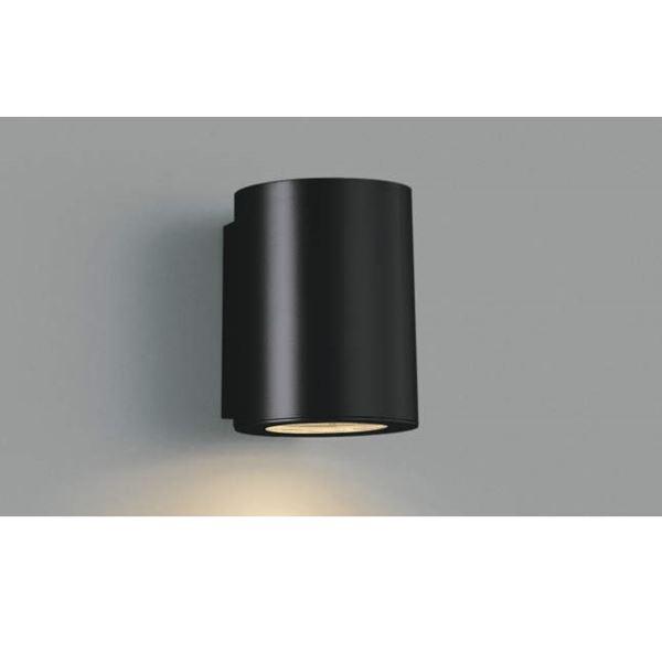 コイズミ シンプルでスタイリッシュな表札灯 表札灯 下方照射 AU35655L ライト 超安い 輸入 エクステリア照明 黒色