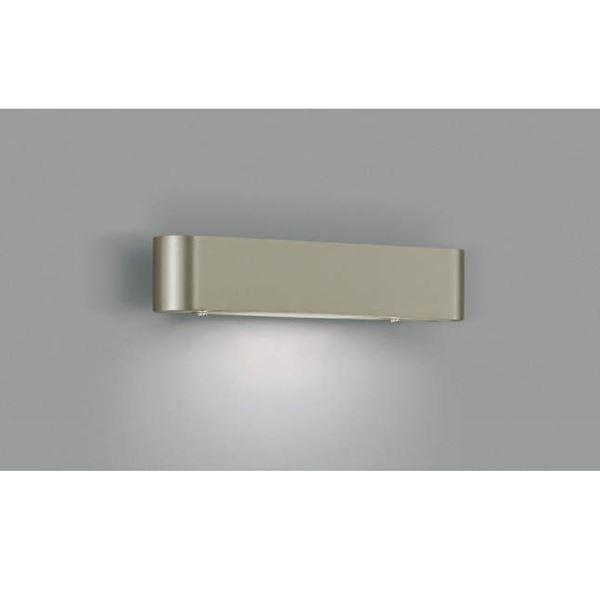 コイズミ 表札灯  AU36228L  『表札灯 エクステリア照明 ライト』 ウォームシルバー