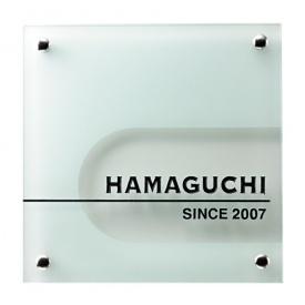 福彫 クリアーガラス GPL-126 『表札 サイン 戸建』