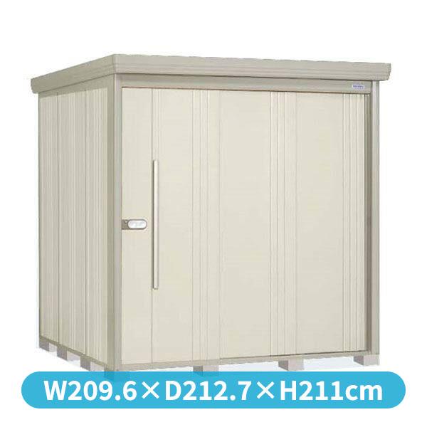 タクボ物置 ND/ストックマン ND-2019 一般型 標準屋根 『追加金額で工事も可能』 『屋外用中型・大型物置』 ムーンホワイト