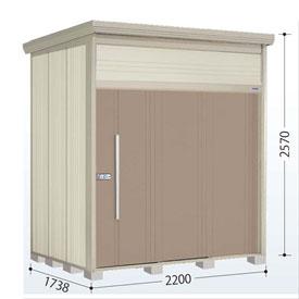 タクボ物置 JN/トールマン JN-Z2217 一般型 結露減少屋根 『追加金額で工事も可能』 『屋外用中型・大型物置』 カーボンブラウン