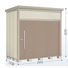 タクボ物置 JN/トールマン JN-2517 一般型 標準屋根 『追加金額で工事可能』 『収納庫 倉庫 屋外 中型 大型』 カーボンブラウン