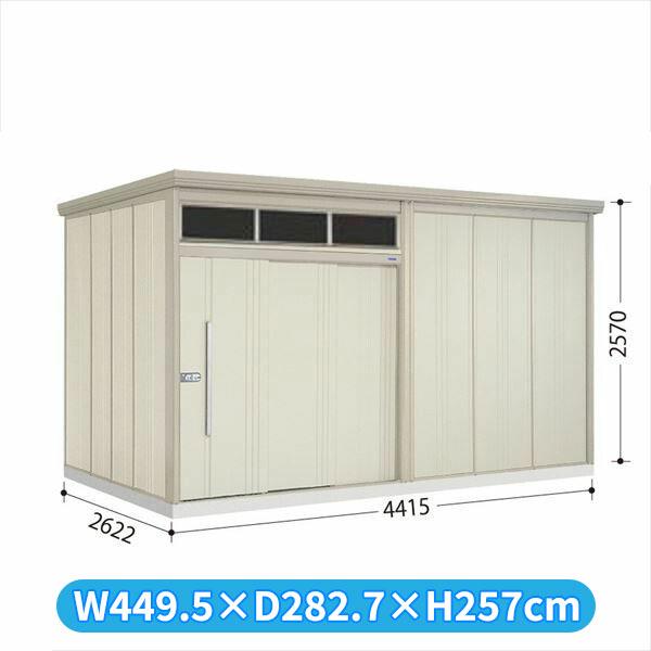 タクボ物置 JNA/トールマン ブライト JNA-4426W 一般型 標準屋根  『屋外用大型物置』 ムーンホワイト
