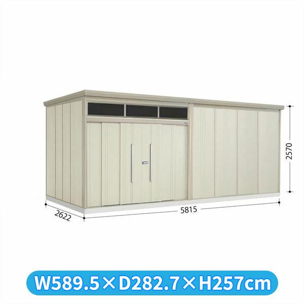 タクボ物置 JNA/トールマン ブライト JNA-S5826W 多雪型 標準屋根  『屋外用大型物置』 ムーンホワイト