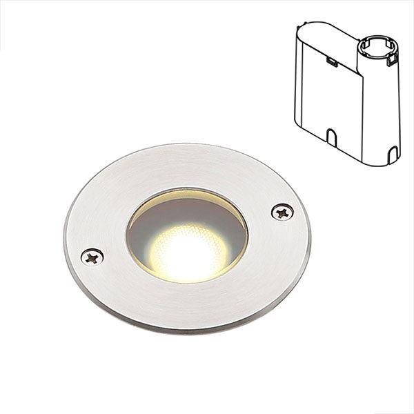 タカショー グランドライト(100V) シンプルLED グランドライト1型 15mm厚ガラス仕様スリムボックス (LED:電球色) HFF-D27S #79868100 『ローボルトライト』 『エクステリア照明 ライト』