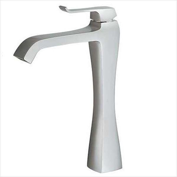 カクダイ 水栓金具 RATONA シングルレバー混合栓(トール) 本体水抜付き 183-165K