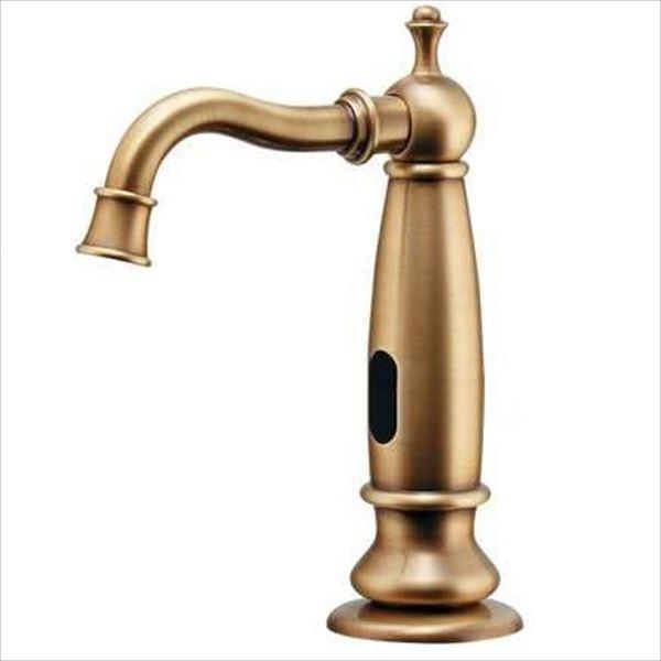 カクダイ 水栓金具 ANTIRA センサー水栓(オールドブラス) 713-351-AB