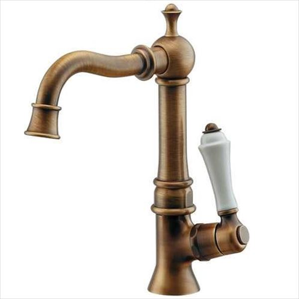 カクダイ 水栓金具 ANTIRA 止水栓(オールドブラス) 700-738-13