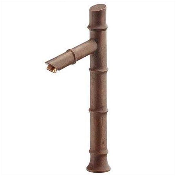 カクダイ 水栓金具 無音 しじま 立水栓(竹) 716-256-13