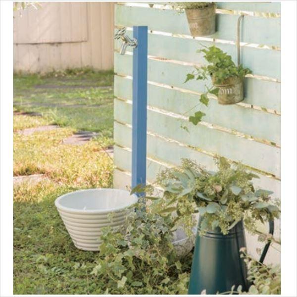 オンリーワン アクアルージュ 水栓柱 TK3-SKMB +水鉢セット+ハンドルセット   マリンブルー