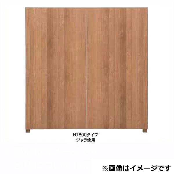 タカショー  エバーアートボードフェンス 6型セット 片面 60角柱 両柱 墨板(受注生産品)※見切材ステン
