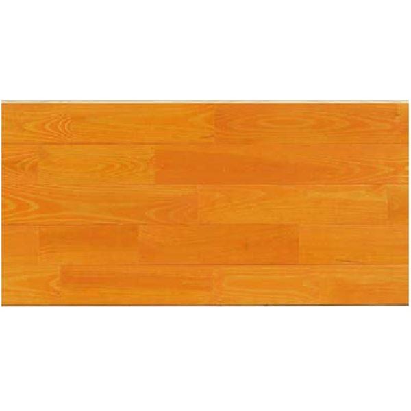 天然木部材 エコプレーゼ あづみの松 無地上小グレード LIVOSオイル塗装 幅114mm 8枚入り 受注生産 ブラジル色 #WPFL0030