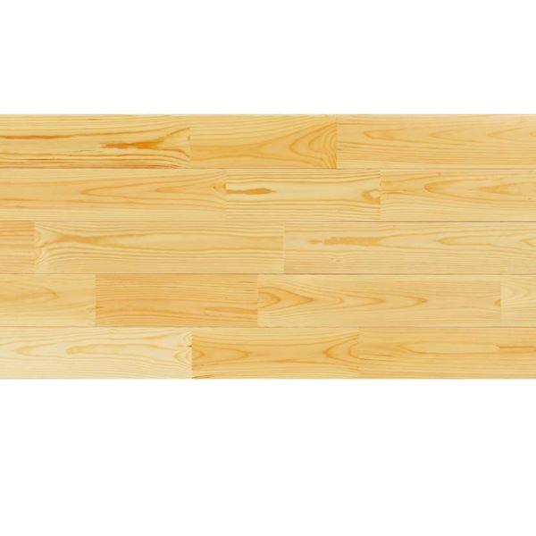 天然木部材 あづみの松 無地上小グレード Sコート塗装 幅152mm 6枚入り 受注生産 (クリア) #WPFL0576