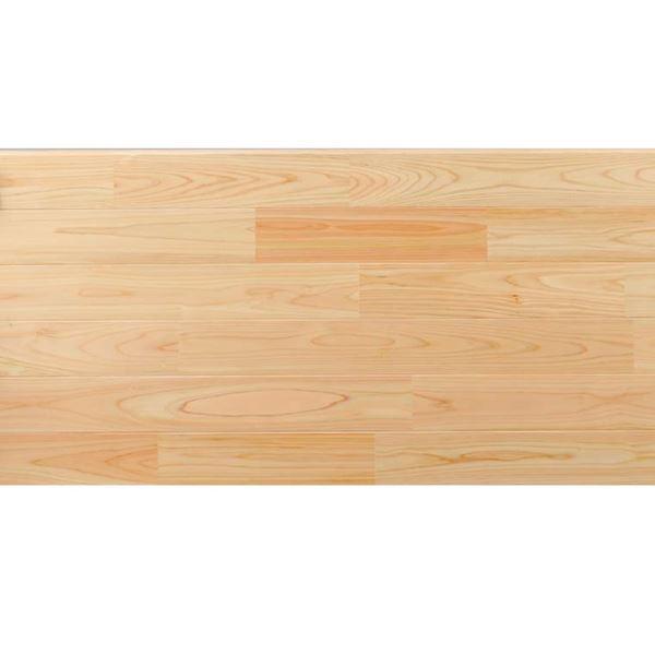 天然木部材 あづみの桧 無地上小グレード UVナチュラルコート塗装 幅91mm 10枚入り 受注生産 (クリア) #WPFL0235